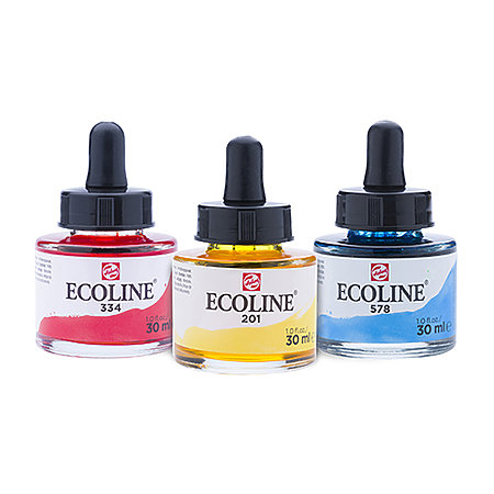 Ecoline Liquid Watercolour 30ml Jars