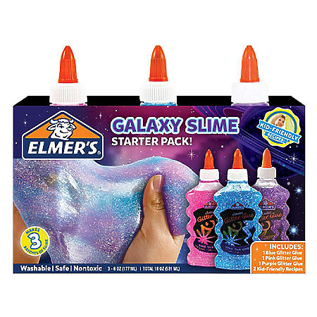 Glitter Glue Slime Starter Packs