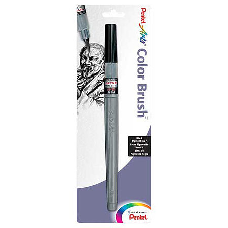 Color Brush Pens & Refill Ink Cartridges