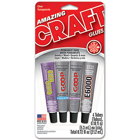 Assorted Mini Craft Glues Set