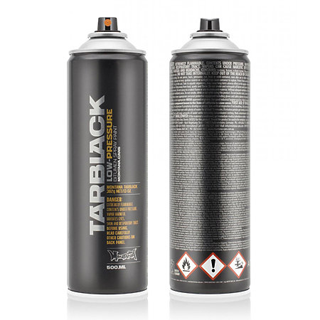 Montana BLACK Low-Pressure Cans Spray Color