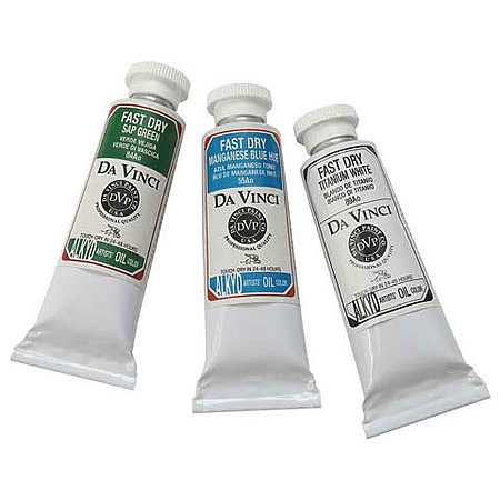 Fast Dry Alkyd Oil Colors