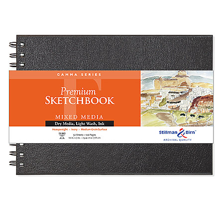 Gamma Series Premium Hard-Cover Sketch Books