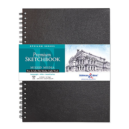 Epsilon Series Premium Hard-Cover Sketch Books