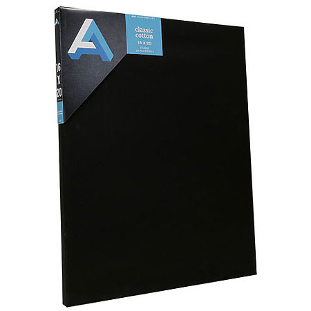 Classic Cotton Stretched Canvas   Black