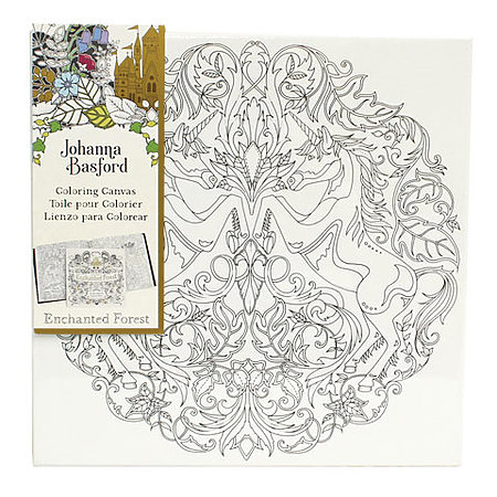 Johanna Basford Coloring Canvas