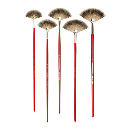 Pure Badger Hair Oil Brushes