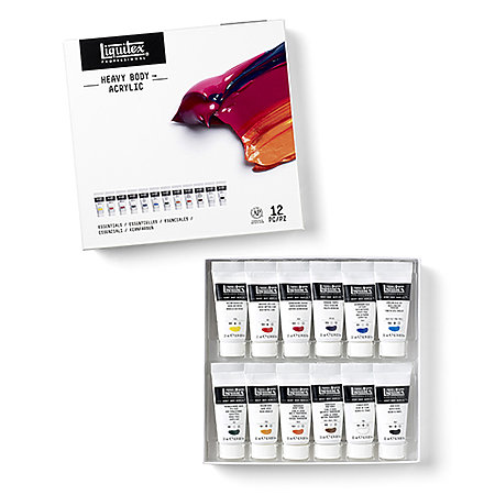 Professional Heavy Body Acrylic Color Sets