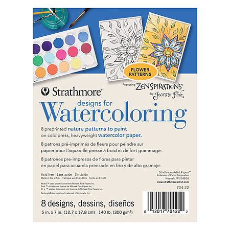 Designs for Watercoloring Pads
