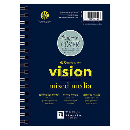 Vision Mixed Media Paper Pads