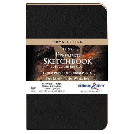 Nova Series Soft-Cover Sketch Books