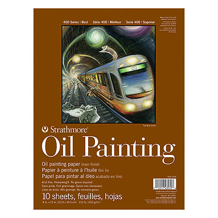 Oil Painting Paper Pads   400 Series