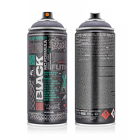 Montana Black Artist Edition Cans