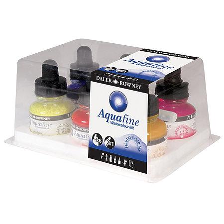 Aquafine Watercolor Ink Set