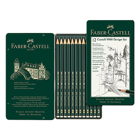 Castell 9000 Pencil Sets