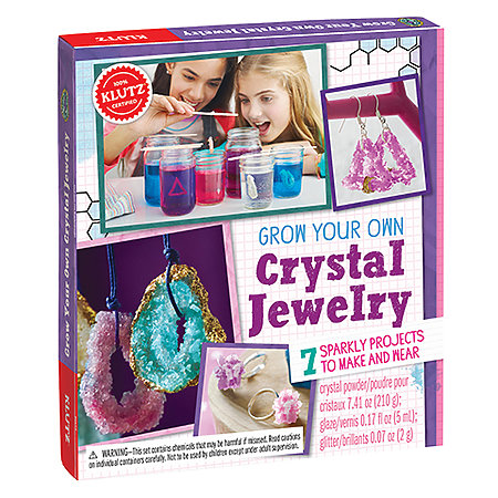 Grow Your Own Crystal Jewelry Kit