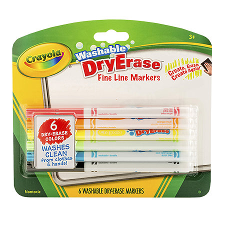 Washable Dry-Erase Marker Set