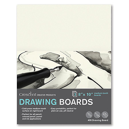 Cold-Press Drawing Board 3-Packs