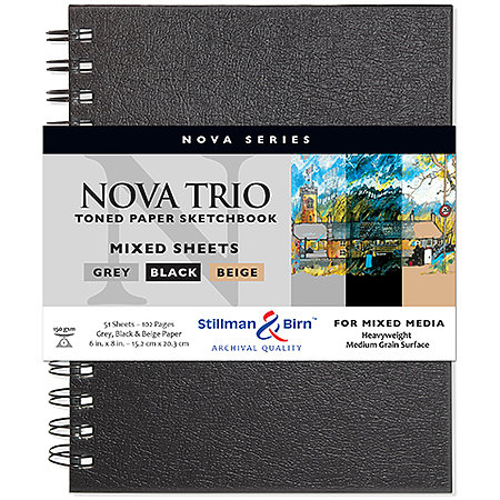 Nova Series Wire-Bound Mixed Sheets Sketch Books