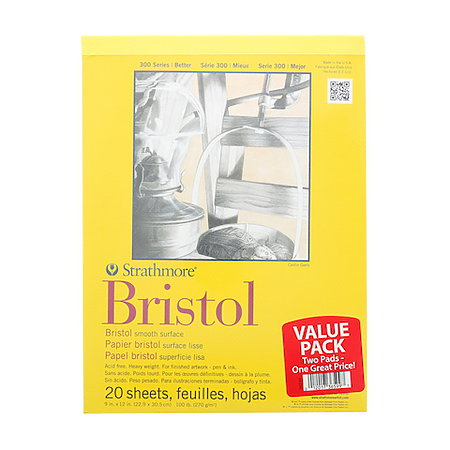 300 Series Bristol Smooth Pad Bundle