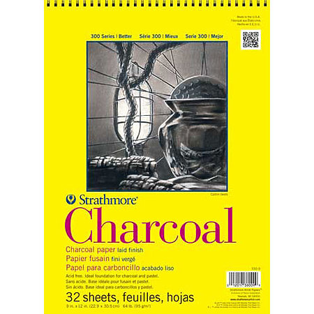 Charcoal Paper Pads   300 Series