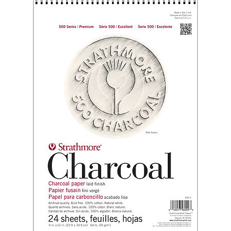 Charcoal Paper Pads   500 Series