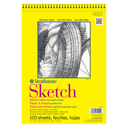 Sketch Paper Pads   300 Series