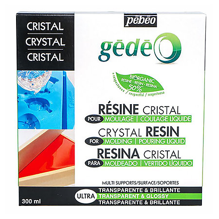 Gedeo Bio-Based Crystal Resin