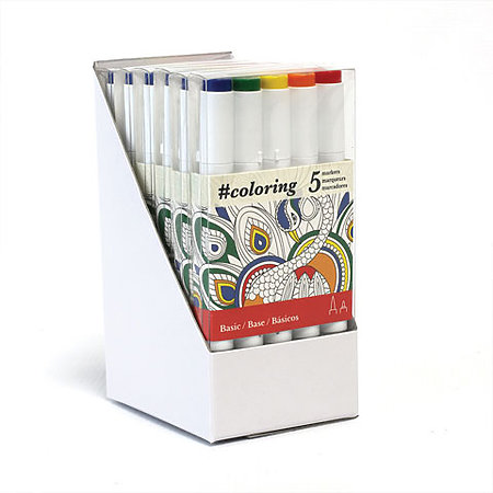 #coloring Markers Empty Display
