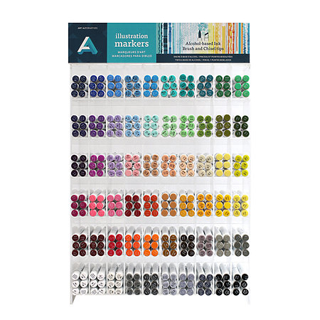 Illustration Markers 360-Piece Assortment Display