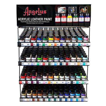 Acrylic Leather Paint 1 oz. Best Sellers - 48 Facing Assortment Display