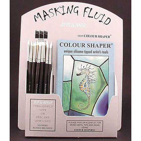 Colour Shaper Masking Fluid Applicator Counter Top Display