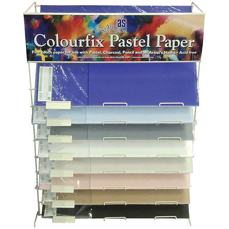 "Colourfix Suede 14"" x 18"" Sheet Assortment Display"