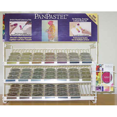 Colorfin PanPastel Assortment Display - 60 to 80 Color Expansion