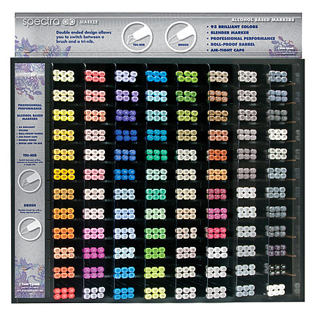 Spectra AD 96-Marker Assortment & Display