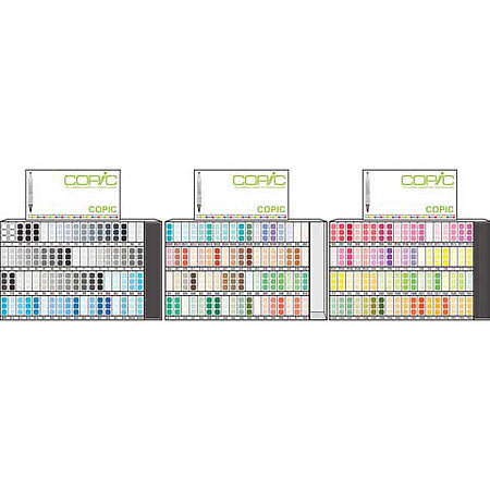 COPIC Marker Full Assortment & Display