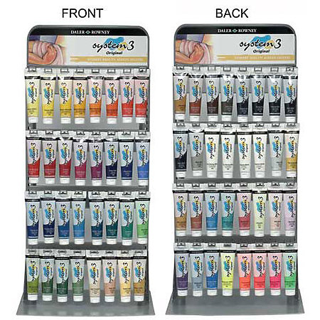 System 3 150ml Original Assortment & Display Horizontal