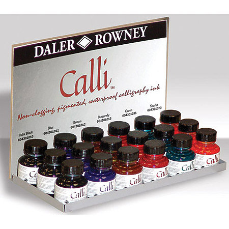 Calli Inks Assortment & Display