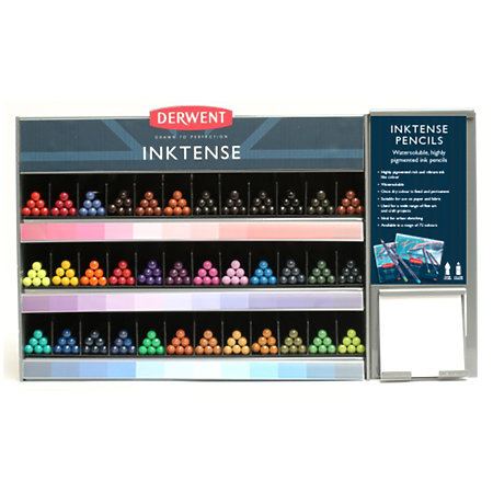 Inktense Pencil 36-Color Assortment & Display