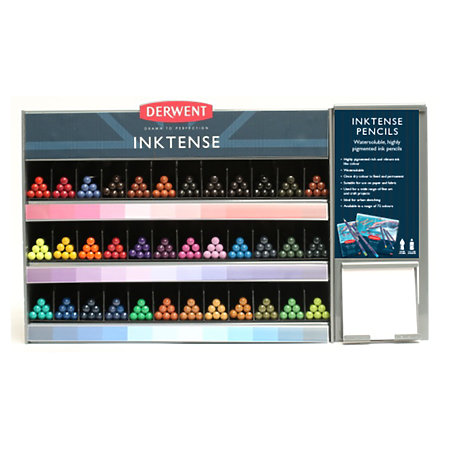 Inktense Pencil 36-Color Assortment Display