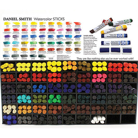 Extra-Fine Watercolor Stick Assortment Display   51 Colors