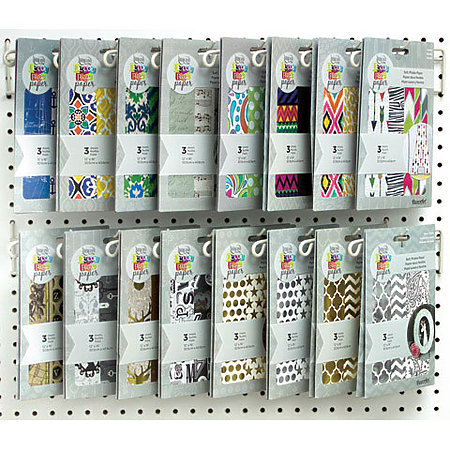 Americana Decou-Page Paper Assortment Display