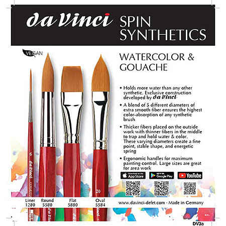 CosmoTop Spin Watercolor Assortment Display