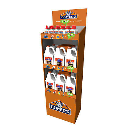 School Glue 4 oz. & Gallon Floorstand Assortment