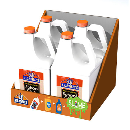 School Glue Gallon Tray Assortment Display