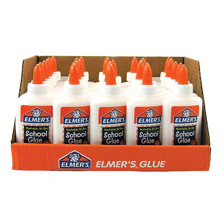 School Glue 4 oz. 30-Bottle P.O.P. Display