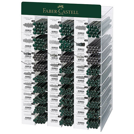 Faber-Castell Complete Graphite Pencil Assortment Display