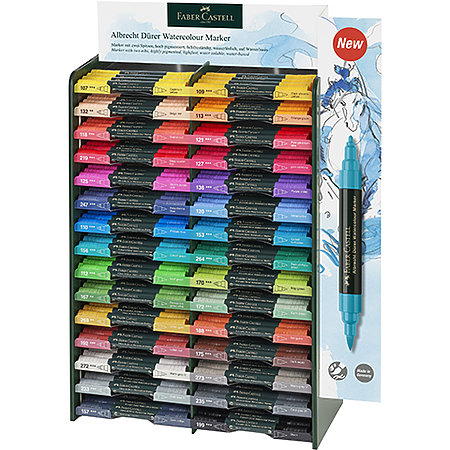 Albrecht Durer Watercolor Marker Assortment Display