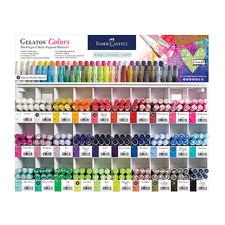 Gelatos 30-Color Assortment Display