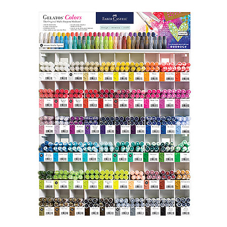 Gelatos 60-Color Assortment Display